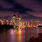 Brisbane @ sunset by makatoosh