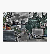 Fenway Park Gate E Photographic Print