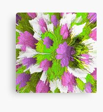 Shabby Chic Modern Vibe Abstract Canvas Print