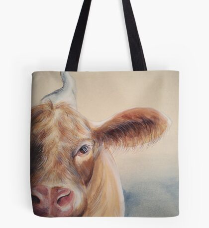 Roundabout Cow Tote Bag