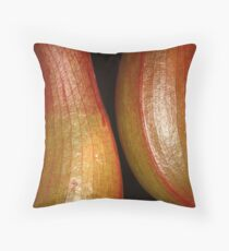 sensual curves and veins Throw Pillow