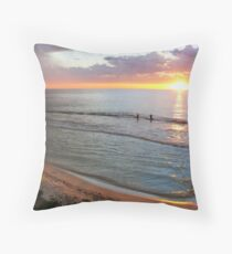 Ocean Ambience Throw Pillow