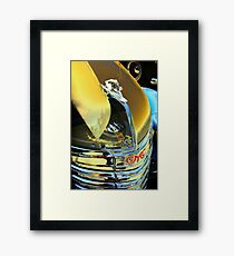 Surfing the Old Road Framed Print