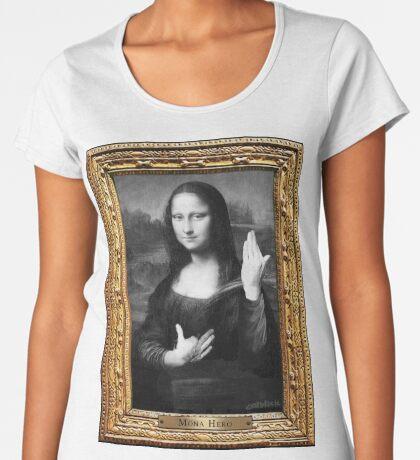 Mona Hero Premium Scoop T-Shirt