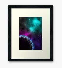 Nebulous Clouds Framed Print