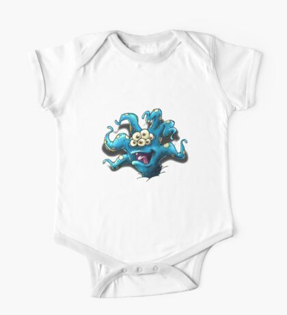 Happy Tentacle head chest burster Kids Clothes