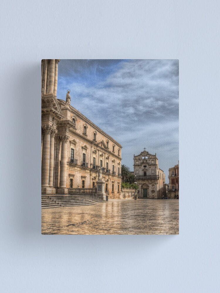 Alternate view of Piazza Duomo - Siracusa Canvas Print