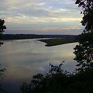 Mattaponi River Sunset by Sunshinesmile83
