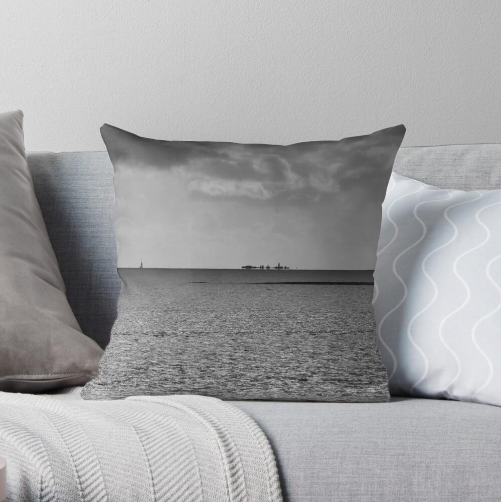 Hurst Mirage Throw Pillow