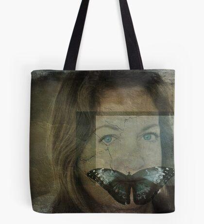 Silence...(Behind blue eyes) Tote Bag