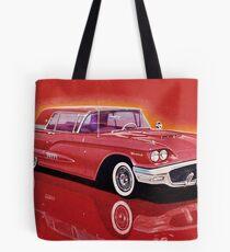 1958 Ford Thunderbird Tote Bag