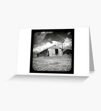 Outback Shed Greeting Card