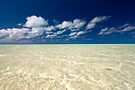 Aitutaki Lagoon by Michael Treloar