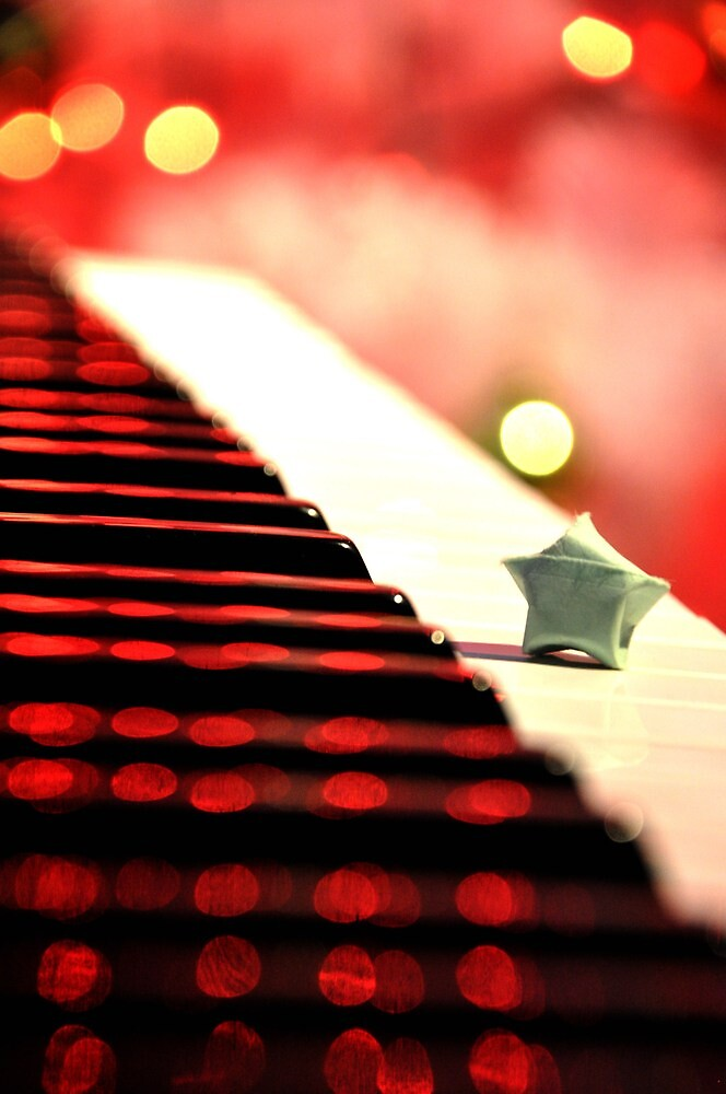 I see a star in every musician by Bianca Velasco