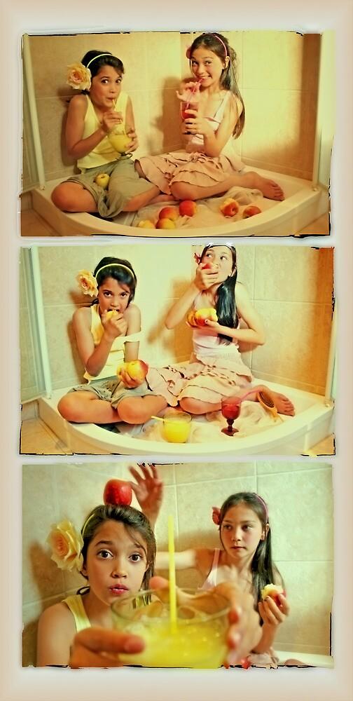 the shower fairies by Rebecca Tun