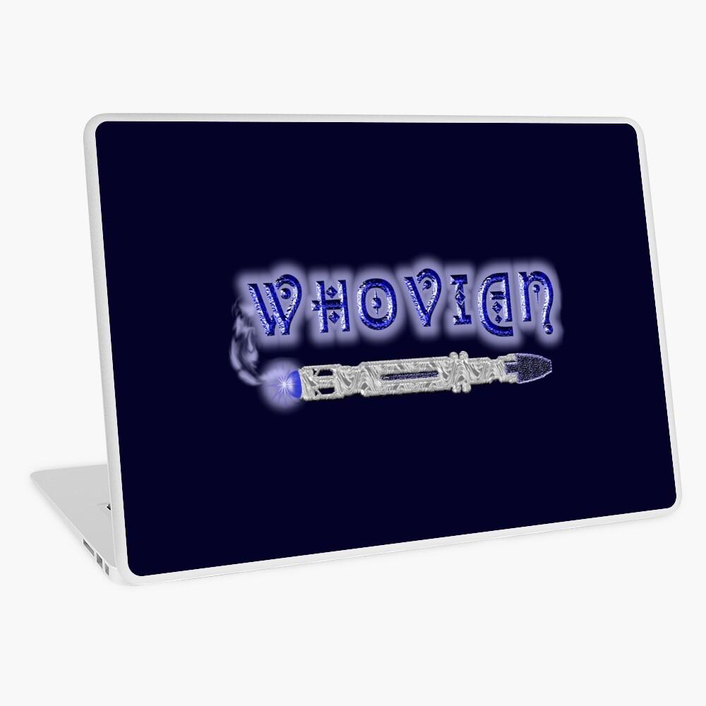 Whovian Screwdriver Laptop Folie