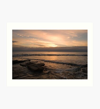 Sunrise Alexandra Headland Art Print