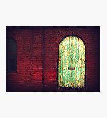 Distressed Door - Chiltern, Victoria Photographic Print