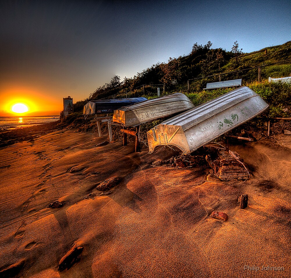 Lifes a Beach - Long Reef Aquatic Park, Sydney - The HDR Experience by Philip Johnson