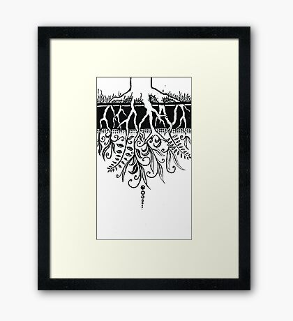 The Loosening Knot at the Centre of Everything Framed Print
