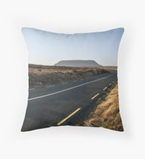 Road to Muckish Throw Pillow