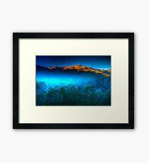 Morning Fog Near Lake Eildon Framed Print