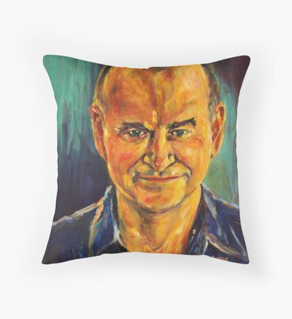 Mr M. Throw Pillow