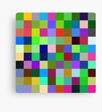 Color Squares 11 Canvas Print