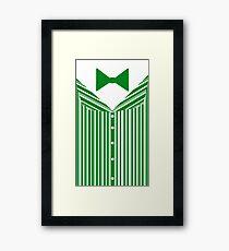 Dapper Dans (Green) Framed Print