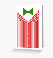Dapper Dans (Christmas Outfit) Greeting Card
