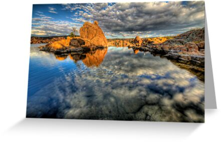 Something with Rocks and Clouds in the Title by Bob Larson