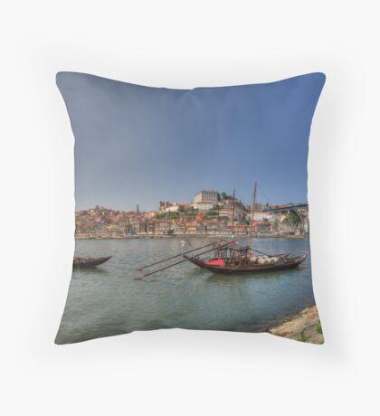 Porto - Rabelos Throw Pillow