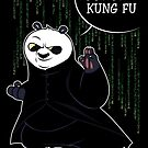 I Know Kung Fu by Inaco