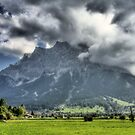 ZUGSPITZ MOUNTAIN by MIGHTY TEMPLE IMAGES