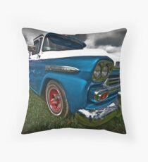 Blue Baby Throw Pillow