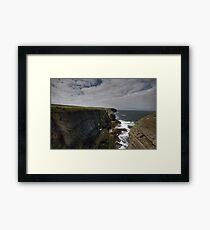 Loop Head Cliffs Framed Print