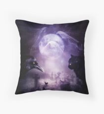 In The Glow of Darkness Throw Pillow