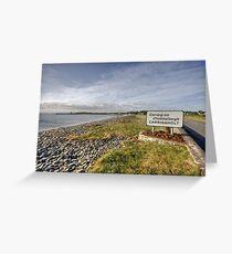 Carrigaholt village Greeting Card