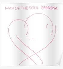 Póster BTS - Map of the Soul Persona - pink