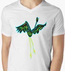 Crane #1 Mens V-Neck T-Shirt
