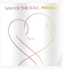 Póster BTS - Map of the Soul Persona - rainbow