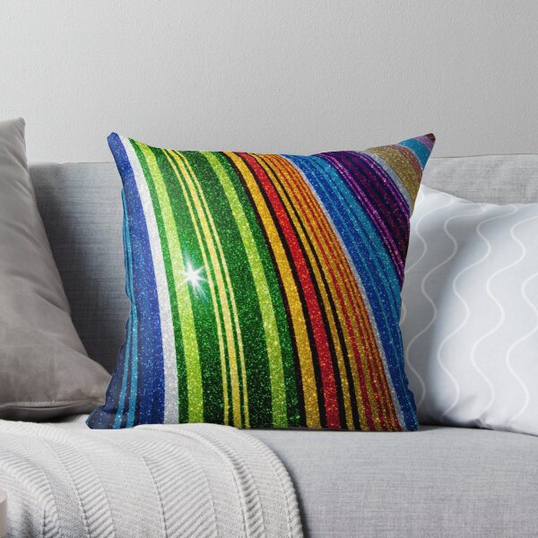 The Rings of Saturn Throw Pillow