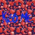 Erdbeeren Küsse mich von RanitasArt