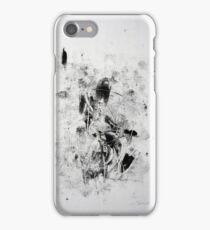 Matrix #2 - Monotype on Wenzhou Paper iPhone Case/Skin