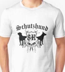 Schutzhund mit Rottweiler und GSD T-Shirt