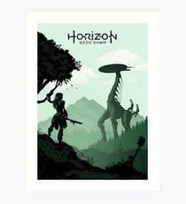 Horizon Zero Dawn Art Print