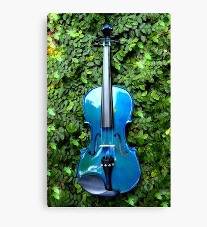 il violino blu nell' edera © 2010 patricia vannucci  Canvas Print
