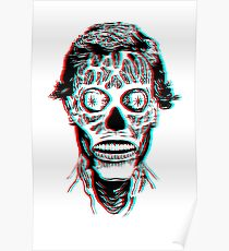 They Live 3D Poster