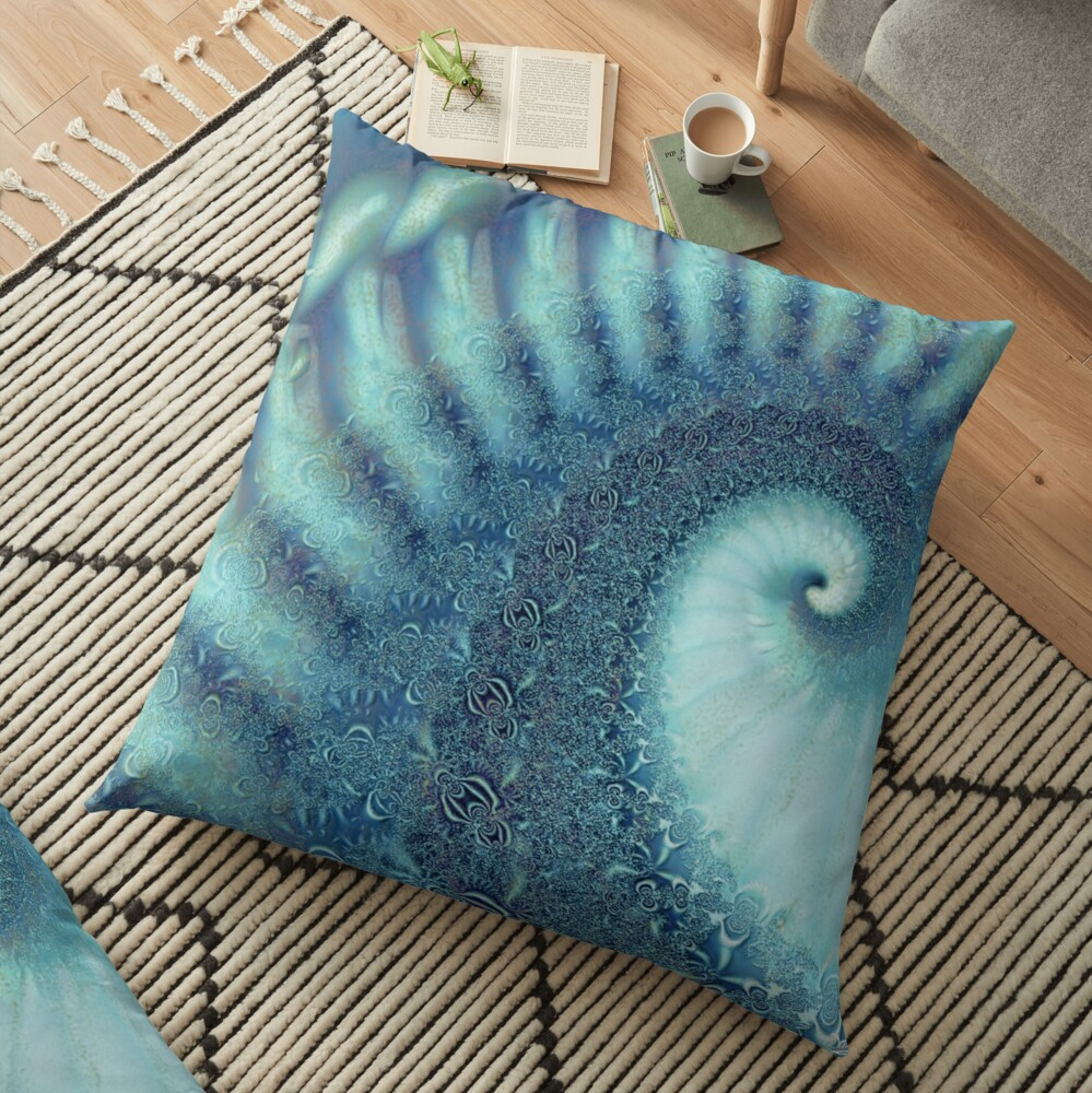 Think Of Me Floor Pillow