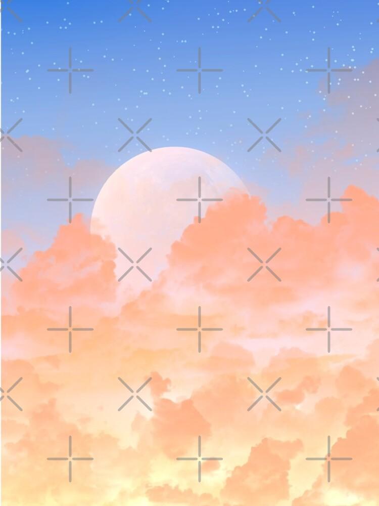 Sun Set & Moon Rise by Elisecv